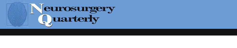 Nurosurgery Quarterly